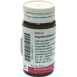ARGENTUM/QUARZ Globuli 20 g