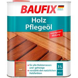 Baufix Teakholzöl Teak, 3 Liter, braun