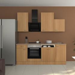 Flex-Well Küchenzeile 220 cm G-220-1701-017 Nano