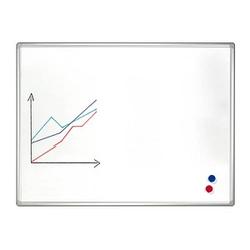 FRANKEN Whiteboard PRO 100,0 x 75,0 cm emaillierter Stahl