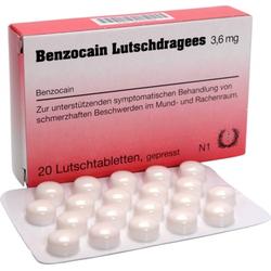 Benzocain Lutschdragees 3,6mg
