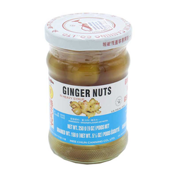 Mee Chun Ingwernüsse Ginger Nuts kandiert Ingwerkugeln in Sirup 250g