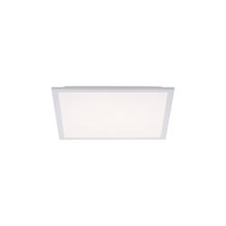 Leuchtendirekt LED-Deckenleuchte Flat in weiß, 45,5 x 45,5 cm