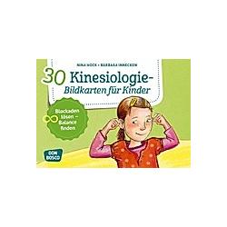 30 Kinesiologie-Bildkarten für Kinder