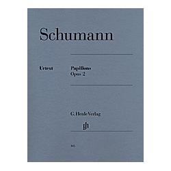 Papillons op.2  Klavier. Robert - Papillons op. 2 Schumann  - Buch