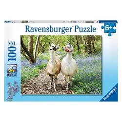 Ravensburger Puzzle Flauschige Freundschaft 100 Teile XXL, Puzzleteile