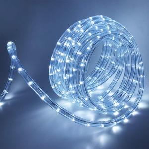 XUNATA 220V-240V LED Lichterschlauch Licht Leiste 36LEDs/m IP65 Wasserdicht Schlauch Seil Lichter für Innen Außen Garten Party Weihnachten Deko (Weiß, 3M)