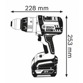 Bosch GSB 18 VE-2-LI Professional ohne Akku + L-Boxx (0601862308)