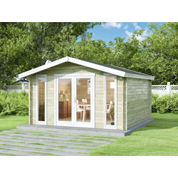 Alpholz Gartenhaus Mirko Modern, ohne Imprägnierung