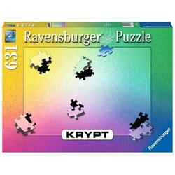 Ravensburger Puzzle Ravensburger 16885 Krypt Gradient 631 Teile Puzzle, Puzzleteile bunt