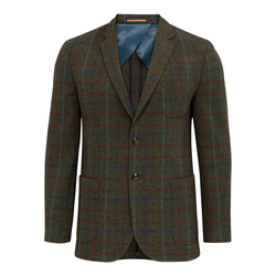 Alan Paine Surrey Tweed-Sakko - forest green