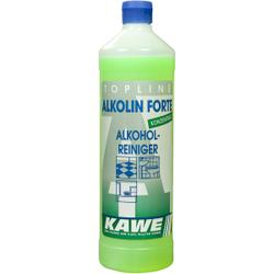 KAWE Alkolin Forte Glanzreiniger mit Alkohol, Alkohol-Reiniger, 1000 ml - Flasche