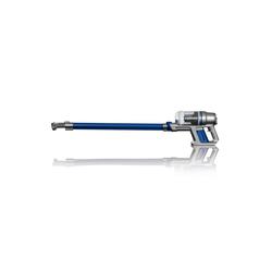 CLEANmaxx Zyklon Hybrid Staubsauger, Akku-Zyklon-Staubsauger 22,2V grau/blau