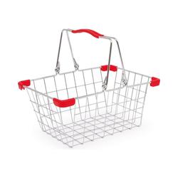 Chr. Tanner Spiel-Einkaufswagen Einkaufskorb aus Metall, leer