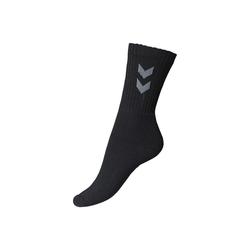 hummel Sportsocken Socken Basic 3er Pack schwarz 14 (46-48)