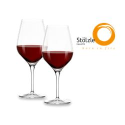 Stölzle Rotweinglas Bordeaux Exquisit 2er Set
