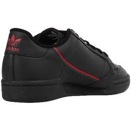 adidas Continental 80 core black/scarlet/collegiate green 44