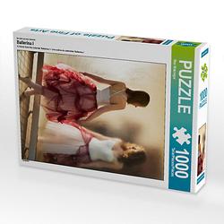 Ballerina I Lege-Größe 48 x 64 cm Foto-Puzzle Bild von Max Watzinger - traumbild Puzzle