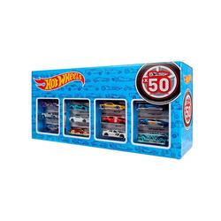 Mattel® Spielzeug-Auto Mattel CGN22 - Hot Wheels - Die-Cast Fahrzeuge, Geschenkset je 50 Spielzeugautos, zufällige Auswahl