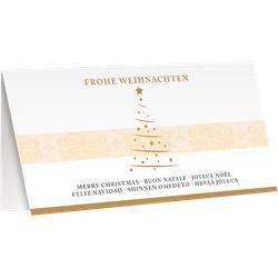 Weihnachtskarte Grußkarte Motiv Frohe Weihnachten