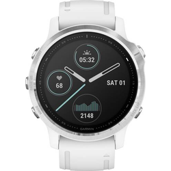 Garmin Fenix 6S Smartwatch 42mm Weiß