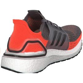 adidas Ultraboost 19 M grey four/core black/hi-res coral 44