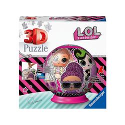Ravensburger 3D-Puzzle 3D-Puzzleball LOL Surprise!, 72 Teile, Puzzleteile
