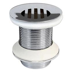 Ablaufgarnitur mit Sieb für Waschbecken - ohne Überlauf - Länge 60 mm