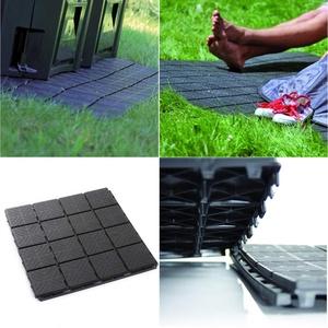 Gartenplatten Bodenplatten Fliese Terrassenfliesen Balkonfliese 40x40x2 cm Komposter Grundfläche Balkon Gehweg Beetplatten