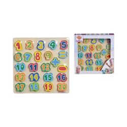 Eichhorn Steckpuzzle Zahlen, Puzzleteile