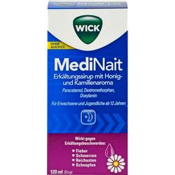 WICK MediNait Erkält.Sir.m.Honig-u.Kamil.Aroma 120 ml