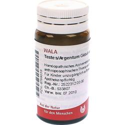 TESTES/ARGENTUM Globuli 20 g