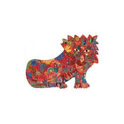 DJECO Puzzle Kunstpuzzle Löwe, 150 Teile, Puzzleteile