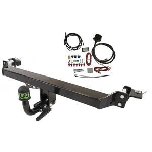 Abnehmbare Anhängerkupplung mit 13p C2 E-Satz für Volkswagen VW Golf V-VI Variant Kombi 4MOTION 4X4 2007-2013 UT430COR55ZCM/WU403DE1