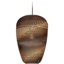 think paper Hängeleuchte Baggy 290, Papierleuchte, Papierlampe, Unikat Lampe, Designer Leuchte, Deckenlampe im edlen Design