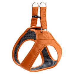 Hunter Geschirr Hilo Leder orange, Größe: S
