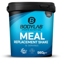 Bodylab24 Meal Replacement Shake Erdbeere Pulver  960 g