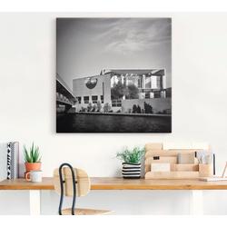 Artland Wandbild Berlin Bundeskanzleramt, Gebäude (1 Stück) 50 cm x 50 cm
