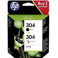 HP 304 schwarz + CMY