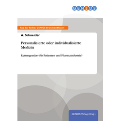 Personalisierte oder individualisierte Medizin