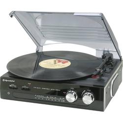 Plattenspieler TTR-8633/N mit FM Stereo Radio