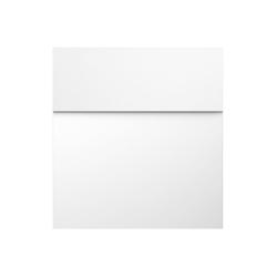 MOCAVI Briefkasten MOCAVI Box 570 Design-Briefkasten signal-weiß (RAL 9003)