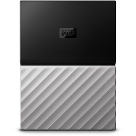 Western Digital My Passport Ultra 3 TB USB 3.0 schwarz/grau WDBFKT0030BGY-WESN