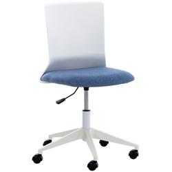 CLP Schreibtischstuhl Apolda, ergonomisch blau