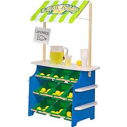 Einkaufsladen / Limonadenstand aus Holz