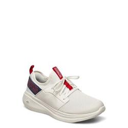 Skechers Mens Go Run Fast - Valor Niedrige Sneaker Weiß SKECHERS Weiß 44,45.5,45,46,44.5