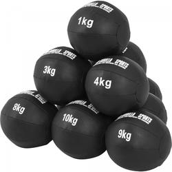 Medizinball Set aus Leder 55 kg