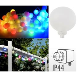 Gartenlichterkette 80 LED - Partybeleuchtung Partylichterkette Lichterkette IP44