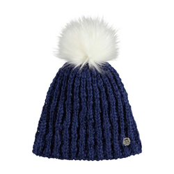 Beanie BENCH - Turn Up Bobble Beanie Blue Depths (BL145)