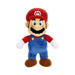 Super Mario Kuscheltier Fire Mario Plüschfigur 20 cm blau